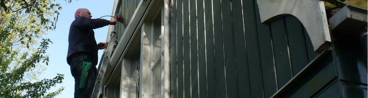 Onderhoud Zaanse houten gevel